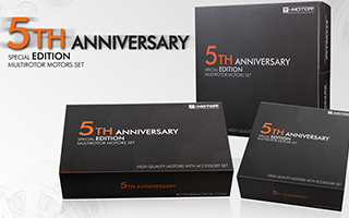 Celebrating for 5th Anniversary of T-MOTOR